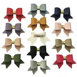 Other - Faux Leather Bow